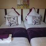 Room 3 Single beds